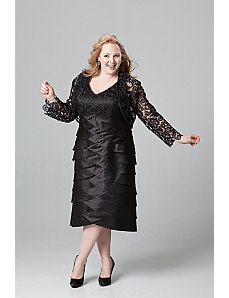 Jacket Cocktail Dress in Plus Sizes by Sydney's Closet