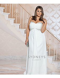 Chic Casual Wedding Dress by Sydney's Closet