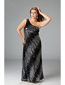Sexy Sequin Maxi Dress by Sydney's Closet