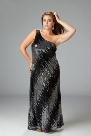 Sexy Sequin Maxi Dress