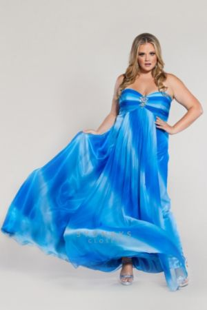 Formal Dress in Ombre