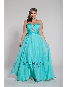 Exquisite Formal Prom Dress by Sydney's Closet