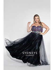 Sequin and tulle formal dress by Sydney's Closet