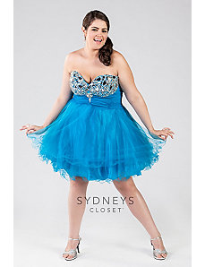 Flirty Tulle and Chiffon Party Dress by Sydney's Closet