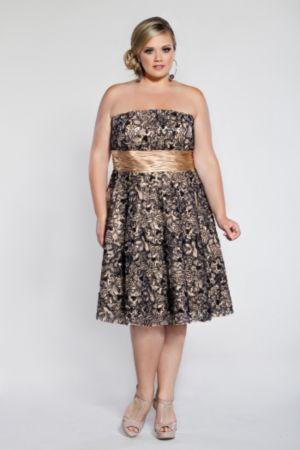 Pretty Lace Cocktail Dress