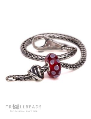 Luck and Joy Burgundy Bracelet