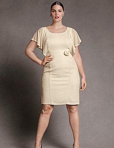Cloque chiffon dress by Isabel Toledo