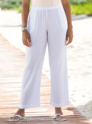 Cotton Gauze Pants