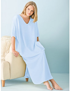 Terry Knit Caftan by Ulla Popken