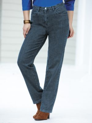 Stretch Denim Slim-leg Jeans