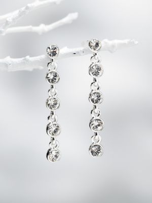 Carolee Rhinestone Drop Earrings