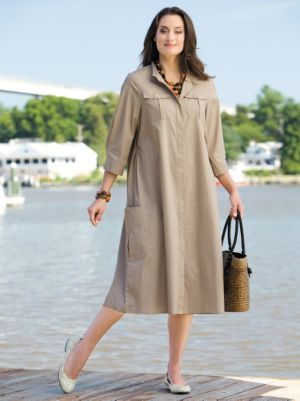 Swing Shirt Dress