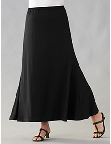 Stretch Knit Skirt by Ulla Popken