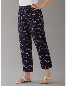 Seagull Stretch Knit Pants by Ulla Popken