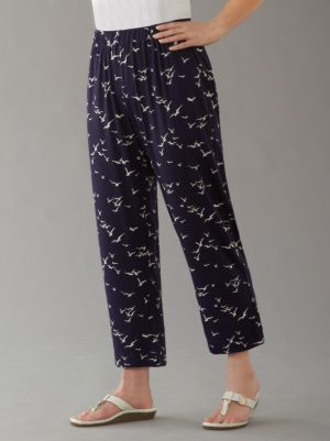 Seagull Stretch Knit Pants