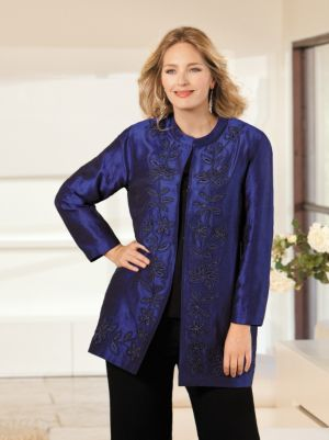 Soutache Embroidered Jacket