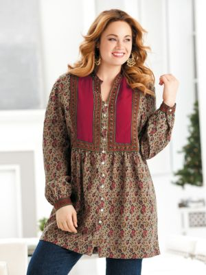 Magic Carpet Bib-front Tunic