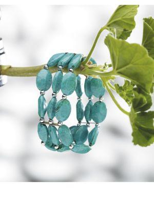 Three Strand Turquoise Bracelet