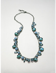 Deep Sea Long Necklace by Ulla Popken