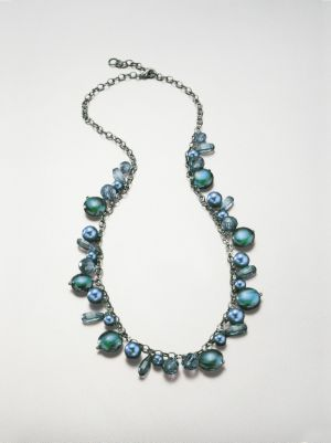 Deep Sea Long Necklace