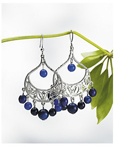 Filigree Chandelier Earrings by Ulla Popken