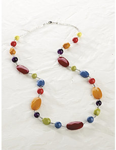 Happy Colors Long Necklace by Ulla Popken