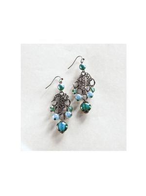 Deep Sea Dangling Earrings