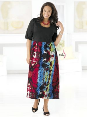 Abstract Concepts Empire Dress