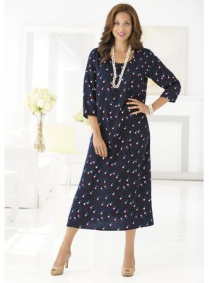 Dots on Dots Dress