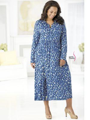 Pod Print Knit Dress