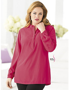 Pullover Wonder-fit Blouse by Ulla Popken