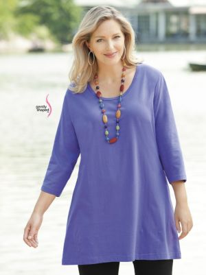 Swing Time Knit Tunic
