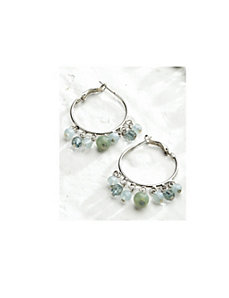 Blue Lagoon Earrings by Ulla Popken