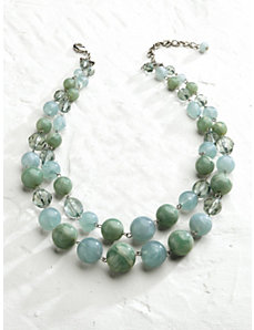 Blue Lagoon Necklace by Ulla Popken