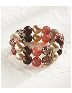 Earthworks Beaded Bracelet by Ulla Popken