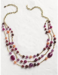Summer Wine Necklace by Ulla Popken