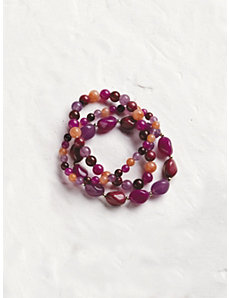 Summer Wine Beaded Bracelet by Ulla Popken