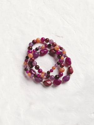 Summer Wine Beaded Bracelet