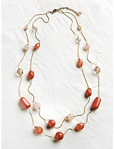 Coral Dreams Necklace by Ulla Popken