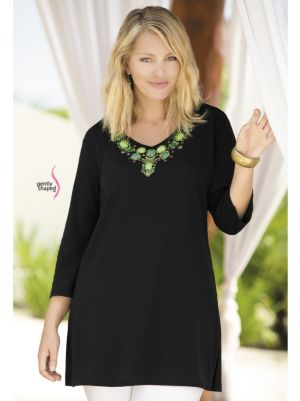 Treasure Trove Waisted Knit Tunic