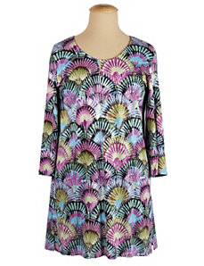 Fan-tastic Knit Tunic by Ulla Popken
