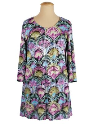 Fan-tastic Knit Tunic
