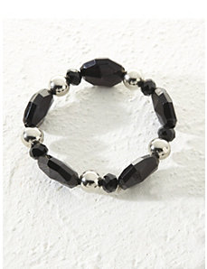 Licorice Stretch Bracelet by Ulla Popken