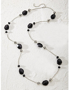 Licorice Necklace by Ulla Popken