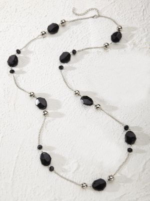 Licorice Necklace