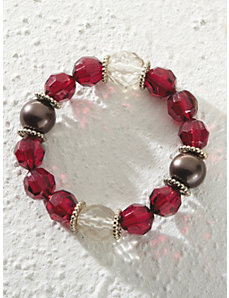 Lady in Red Bracelet by Ulla Popken