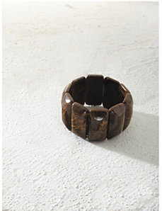 Dark Chocolate Bracelet by Ulla Popken