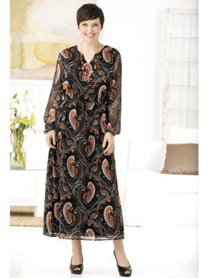 Infinitely Paisley Print Dress
