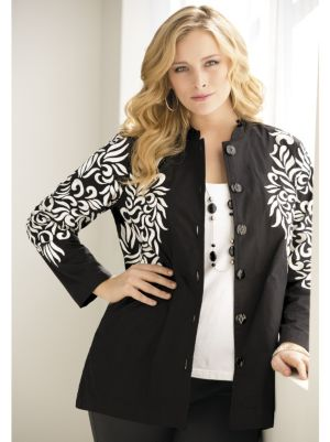 Angel Wings Embroidered Jacket