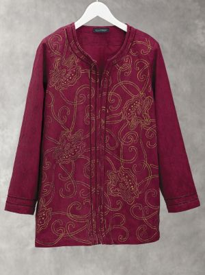 Precious Treasure Embroidered Jacket